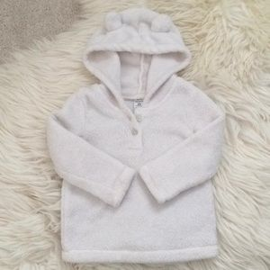 🐻NEW Carter's Bear Sherpa Fleece Hoodie Pullover